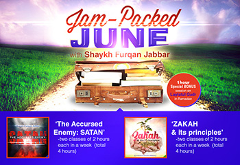 Course Image Jam Packed June with Shaykh Furqan Jabbar