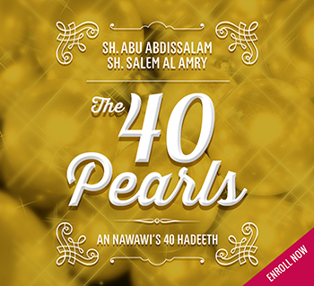 Course Image An Nawawi's 40 Hadith Part 2 (HAD 032)